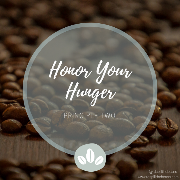 Principle 2. Honor Your Hunger